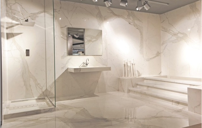 Porcelain Calacatta Slab And Tiles Granite Marble