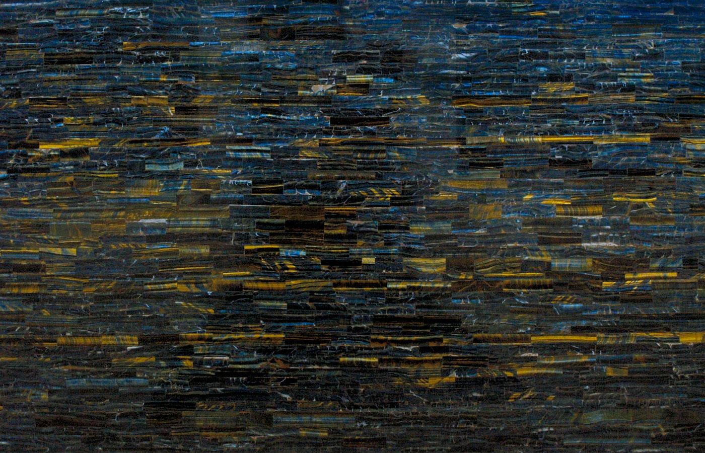 108 Tiger Eye Blue Aeon Stone Tile Granite Marble