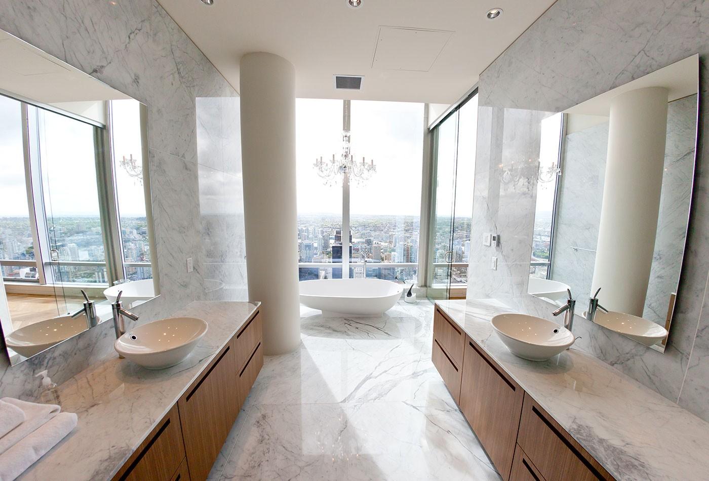 Shangri La Penthouse Aeon Stone Tile Granite Marble